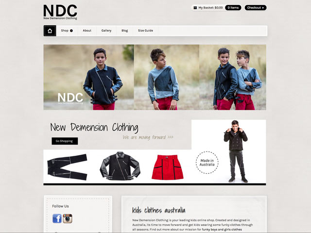 ndc-clothing-website