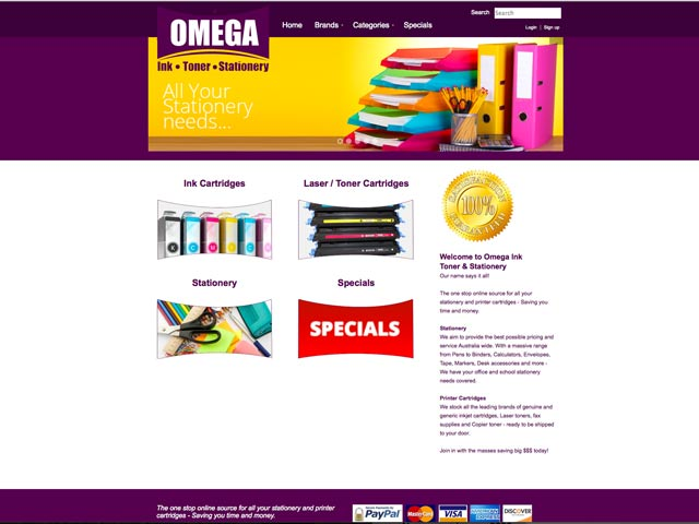 Omega-Ink-website