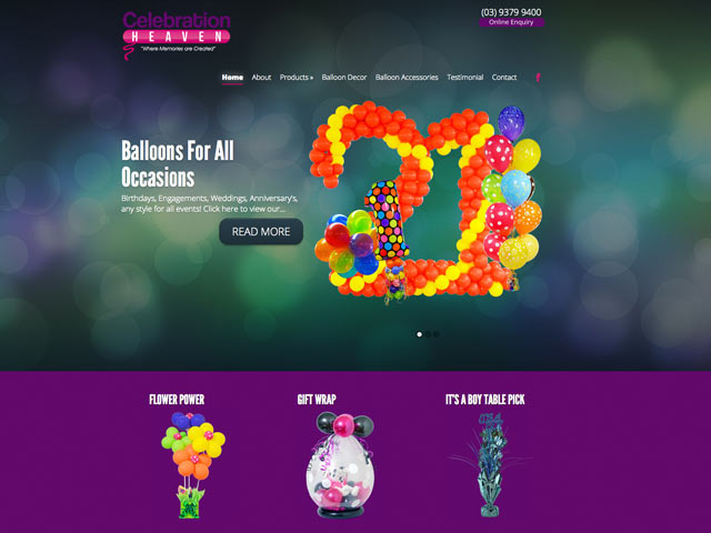 Celebration-Heaven-website