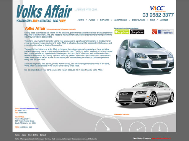 Volks-Affair-website