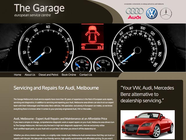The-Garage-website